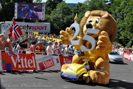 la caravane publicitaire du Tour de France.